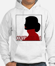 Conservative Woman 2 trsbkg Hoodie
