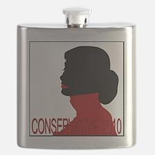 Conservative Woman 2 trsbkg Flask
