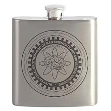 Mad Scientist Union Logo A Flask