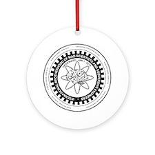 Mad Scientist Union Logo A Round Ornament