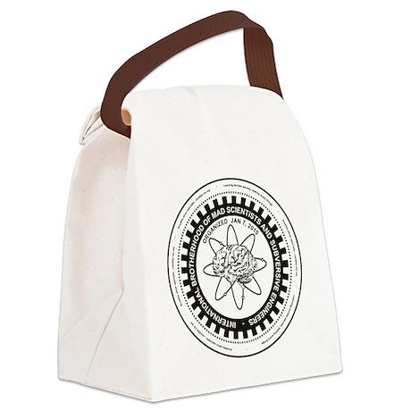 Mad Scientist Union Logo A Canvas Lunch Bag