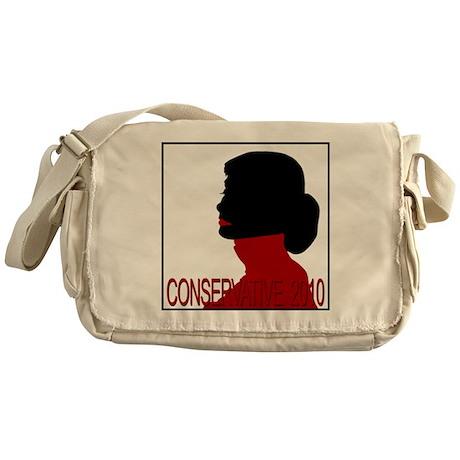 Conservative Woman 2 opqbkg Messenger Bag