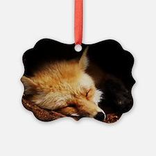 Red Fox 02 Ornament