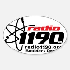 Radio 1190 black logo Decal
