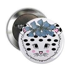 """Baby Leopard  Girl 4 2.25"""" Button"""