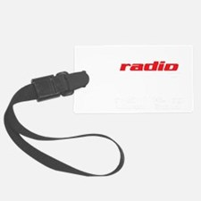 Radio 1190 white logo Luggage Tag