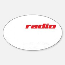 Radio 1190 white logo Decal