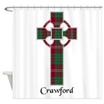 Cross - Crawford Shower Curtain