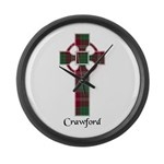 Cross - Crawford Large Wall Clock