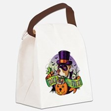 NEW_TRICK_FOR_TREAT Canvas Lunch Bag