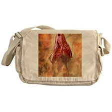 Fire And Water-FireNymph Messenger Bag