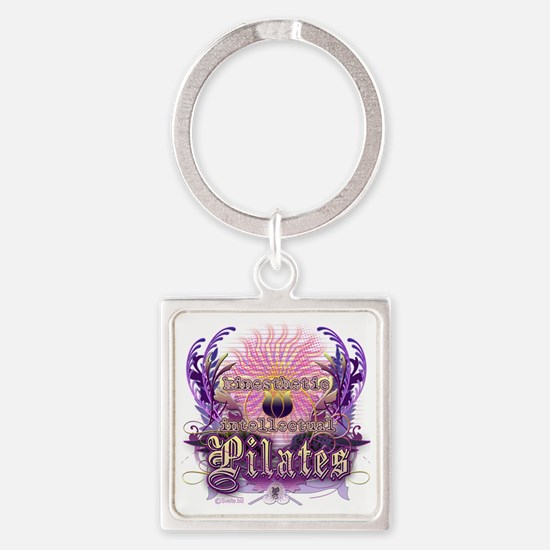 Pilates Kinesthetic Intellectual L Square Keychain