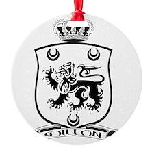 Dillon Crest for Dark Ornament