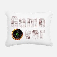 red_ring_360 Rectangular Canvas Pillow
