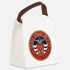 farragut ddg patch transparent Canvas Lunch Bag