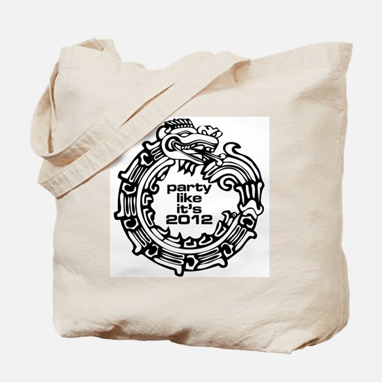 Party 2012 for white Tote Bag