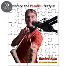 Pseudo with background Puzzle