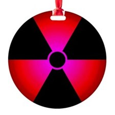 radiationSymbNT3DRed Ornament