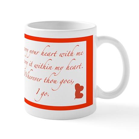I carry your heart small Mug