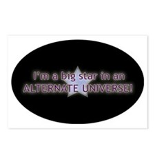 im a big star in an alter Postcards (Package of 8)