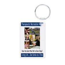 TR Week Recreation Smile c Aluminum Photo Keychain