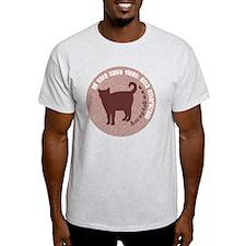 3-pgato redondo T-Shirt