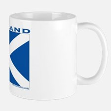 Scotland St Andrews Cross by ClanChatta Mug