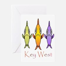 Key West Greeting Card