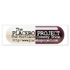 Placebo Project Bumper Sticker