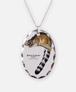 Ring-Tailed Cat Necklace
