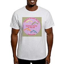 FourDolphins-buttons T-Shirt