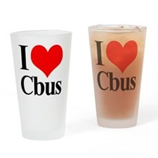 love_cbus Drinking Glass