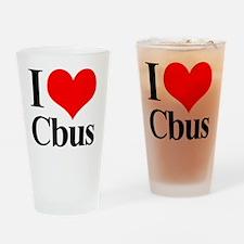 love_cbus Drinking Glass