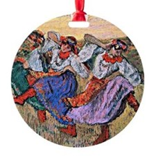 Edgar Degas painting: Russian Dance Ornament