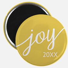 Joy Custom Year Yellow Magnets