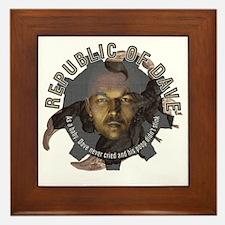 Republic-of-Dave Framed Tile