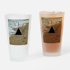 AAClock Drinking Glass