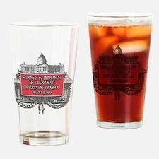 2-Milton Friedman on Government Pro Drinking Glass