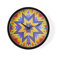 Star Eagle Wall Clock