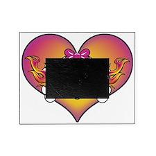 Cute Skull Heart Picture Frame