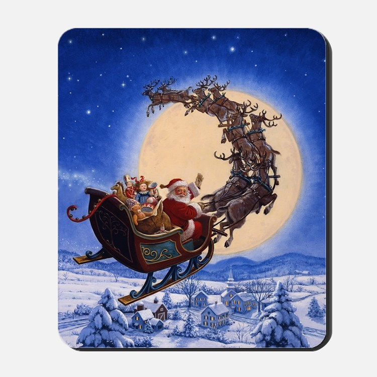 Merry Christmas to All_POSTER Mousepad
