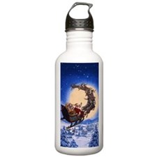 Merry Christmas to All Water Bottle