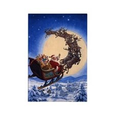 Merry Christmas to All_POSTER Rectangle Magnet