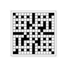 "C-84 (puzzle) Square Sticker 3"" x 3"""