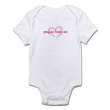 """""""grayson loves me"""" Infant Bodysuit"""