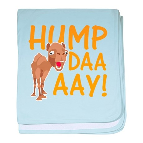 Hump Day! baby blanket