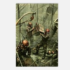 SALVAGE DIVERS Postcards (Package of 8)