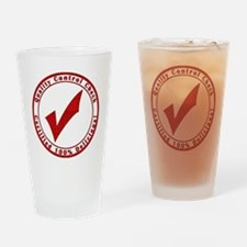 red-100%-delicious Drinking Glass
