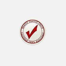red-100%-delicious Mini Button