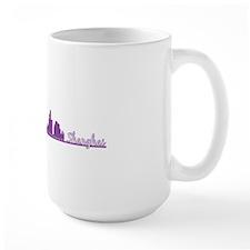 Locations-Shanghai-purple Mug